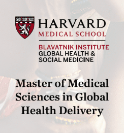 Master of Medical Sciences in Global Health Delivery